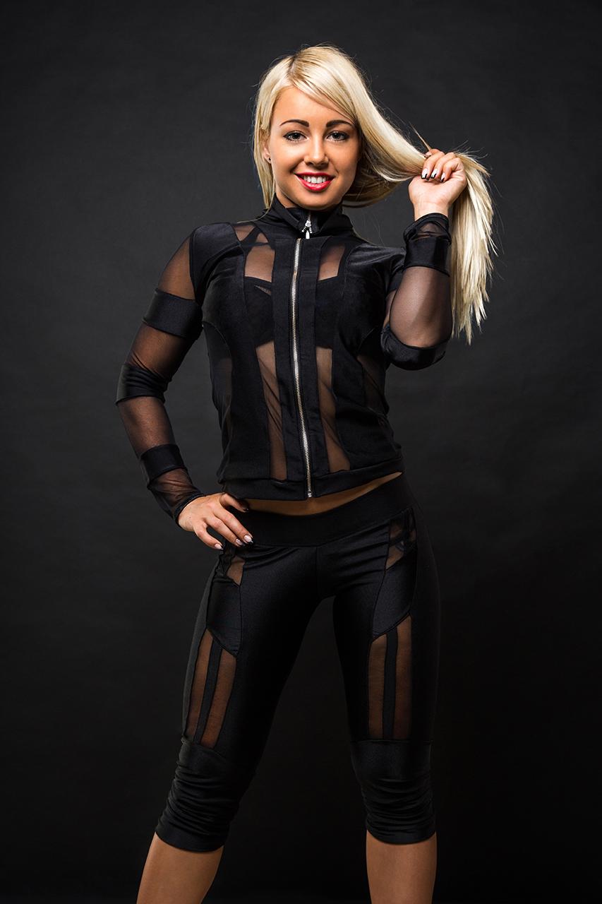 Pole Dance Wear Matrix costume