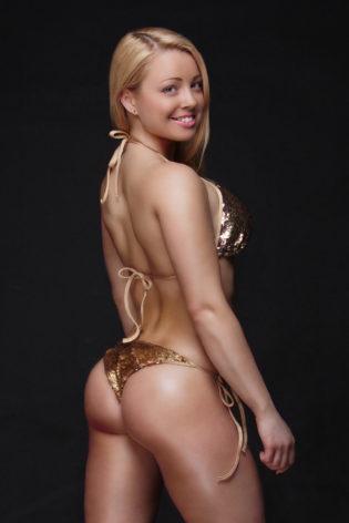 bikini beach gold