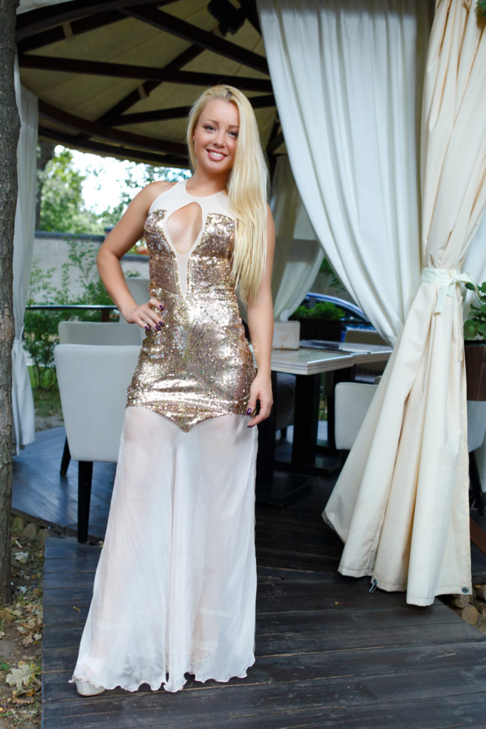 luxury dress sokolova brand
