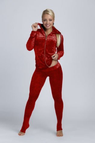 red sport costume