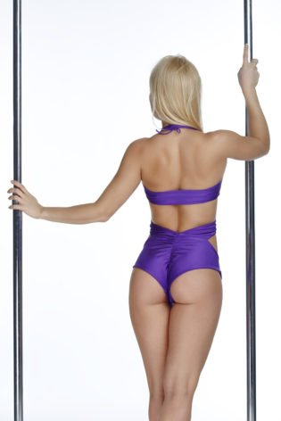 pole dancing short and top